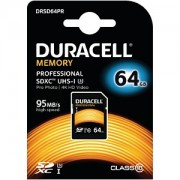 Duracell 64GB SDXC UHS-3 Speicherkarte (DRSD64PR)