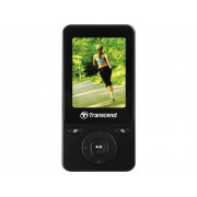 Transcend MP710 MP3-spelare, MP4-spelare 8 GB Svart Fitnesstracker, FM Radio, Stegräknare, Röstinspelning, eBook-funktion