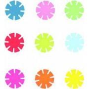Set discuri colorate pentru construit