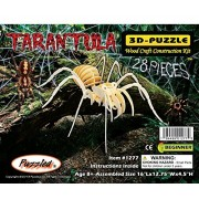 Puzzled Tarantula Wooden 3 D Puzzle Construction Kit