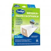 Мешки бумажные Тайфун TA 4015S 5шт + 1 микрофильтр для Bosch / Siemens / Scarlett / Kärcher / Ufesa 4660003391893