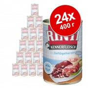 Икономична опаковка RINTI Kennerfleisch 24 x 400 г - говеждо месо