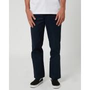 Dickies 874 Original Fit Mens Navy Cotton Polyester Flat Front Pants Dark Navy