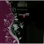 Cantar Electronic Hausberg HB 6003 pentru persoane negru-bordo