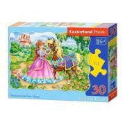 Puzzle Printesa si calul ei, 30 piese