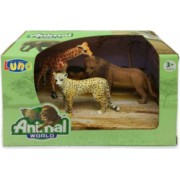 Set 3 figurine Animale Salbatice Animal World 621055