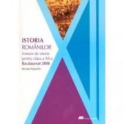 Istoria romanilor. Sinteze de istorie pentru clasa a xii-a Bacalaureat 2008
