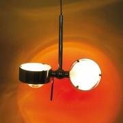 Top Light Puk Long Double Pendelleuchte nickelmatt 4x Linse klar LED