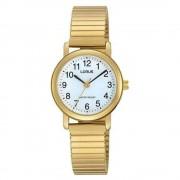 Lorus RRS78VX-9 Gold Tone Bracelet extensible Bracelet Quartz/inox