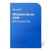 Microsoft Windows Server 2016 RDS Device CAL, 6VC-03222 електронен сертификат