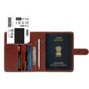GoFree Passport Holder Sleeve - Stores Passports Cards Cash Boarding Pass / Bills - Ultra Compact Passport Wallet Po