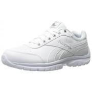 Reebok Women's Royal Lumina Pace running Shoe, White/Silver Metallic, 5.5 D US