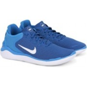 Nike NIKE FREE RN 2018 Running Shoes For Men(Blue)