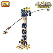 Attracting swing pendulum bob ride amusement park Build It Yourself Electronic Toy 416pcs Height 28 In. Compare to K nex Building Toys Motor and Gears Set