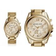 Ladies Michael Kors MK5166 Blair Gold Tone Watch