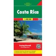 Wegenkaart - landkaart Costa Rica | Freytag & Berndt