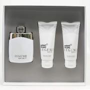 Set Mont Blanc Legend Spirit 3Pzs 100 Ml Edt Spray + After Shave 100 Ml + Shower Gel 100 Ml De Mont Blanc