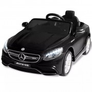 Sonata Акумулаторна кола Mercedes Benz AMG S63, черна, 12V