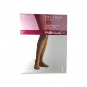 FARMALASTIC MEDIA LARGA (A-F) COMP NORMAL BEIGE T - REINA PLUS