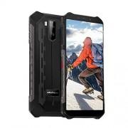 Ulefone Armor X5 Teléfonos robustos desbloqueados, resistentes al agua, Android 9.0 5.5'' 32GB+3GB 4G LTE 13MP cámara 5000mAh Dual Sim, GPS brújula Hot Spot WiFi OTG Face ID Negro