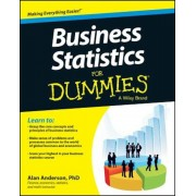 Business Statistics for Dummies, Paperback