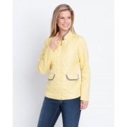 Helena Vera Steppjacke mit Pailletten 19 gelb female Größe 52
