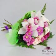 """Buchet flori """"Trandafiri si Orhidee"""""""