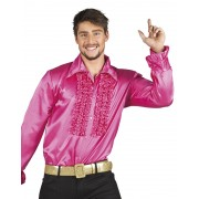 Disco blouse hotpink