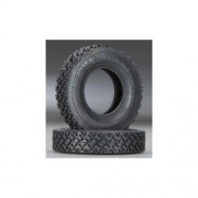 Integy Hobby RC Model C24171 T2 All Terrain Narrow Front/Rear Rubber Tire HD(2) for Tamiya 1/14 Tractor Truck