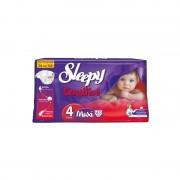 Scutece pentru copii Sleepy Sensitive 4 Maxi 45 buc/set