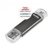 32gb USB/Micro USB Flash Drive 10MB/s Laeta Twin