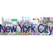 Andrews + Blaine New York City Panoramic Puzzle (1000-Piece)