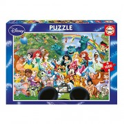 Educa 16297 The Marvellous World Of Disney Ii 1000 Pieces Disney Family Puzzle By Educa