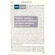 Domínguez Caparrós, José Análisis métrico y comentario estilístico de textos literarios