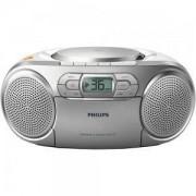 CD радиокасетофон Philips AZ127, касета, MP3-link, FM, 2 x 1 W RMS