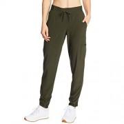 C9 Champion Pantalones de Entrenamiento para Mujer, Verde Botella, XL