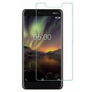 Tempered Glass Screen Protector 0.3mm Thickness (2.5D Curve) Shatter Proof for Nokia 6.1 (Nokia 6 2018)