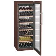 Vitrina pentru vinuri Liebherr WKt 5552, 525 L, 253 sticle, Rafturi lemn, Control taste, Display, H 192 cm, Clasa A+, Culoare Terra