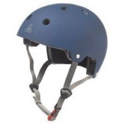 Triple Eight Dual Certified with EPS Liner Blue - Helm