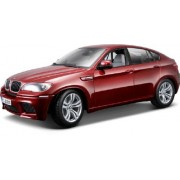Bburago 2011 Diamond 1:18 Scale Metallic Red BMW X6 M