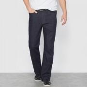 Stretch jeans, standaard taille met elastische tailleband L1