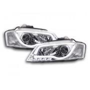FK-Automotive faro luci di marcia diurna Daylight Audi A3 8P anno di costr. 08'-12 cromato