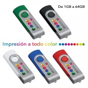 Memorias USB personalizadas Twister