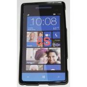 Силиконов гръб ТПУ за HTC 8S Черен