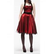 """šaty dámské HELL BUNNY """"Songstree Dress (RED/BLACK) - 4039"""