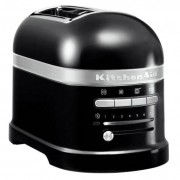 KitchenAid 5KMT2204BOB Artisan 2 Slice Toaster - Black