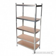 Boltless Freestanding Shelving Unit - 5-Tier 666247 5024763143311 Silverline