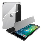 iPad 9.7 2017/2018 Puro Zeta Slim Plasma Folio Case - Zwart