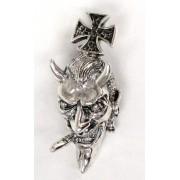 kulcstartó ezüst Devil - BR 2 - 13