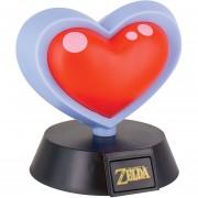 Lampara Contenedor diseño Vida de Zelda Life Heart Light Original Nintendo
